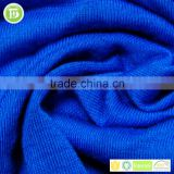 Wholesale 2017 high quality knitting plain dyed fabric tencel cotton fabric