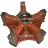 Spider hub five ribs/blades for American Trailer