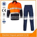 China supplier Chemical Resistant Acid Proof Clothing suit / work shirt and pants