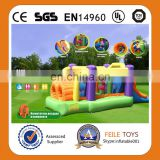 Mini!2014 Hot selling colorful inflatable interactive/inflatable bouncer combo/inflatable slide combo