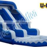 buy inflatable water slide, pvc tarpaulin material