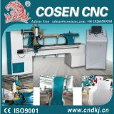CNC wood lathe machine for engraving with high performance