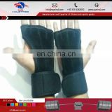 Fitness Neoprene, Leather & Silicone Workout Gloves With Wrist Wraps For Crossfit