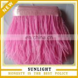 Wholesale Pink Ostrich Feather Trim Ostrich Feather Fringe