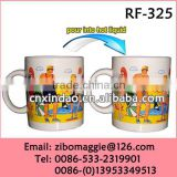 Can Shape Promotion Designed 11oz Ceramic Digital Mug Heat Press (Ce Approved) for Color Changing Mug
