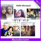 2015 New Factory Selfie Stick, Phone Wireless Monopod with remote control selfie monopod
