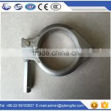 rubber coated pipe Clamp (Concrete pump parts, pipe, elbow, reducer, rubber hose, cylinder