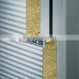 construction material rock wool sandwich panel