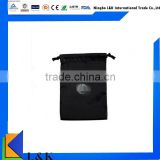 Promotional 210D polyester drawstring bag/cheap drawstring bag