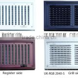 Stainless Steel modern door grill designs register and grille for ventilation made in Japan