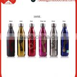 Wholesale Eco-friendly double wall stainless steel water bottle,creative cola-bottle cacuum bottle