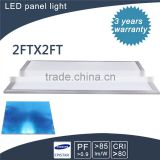 cost caving and factory price 600*600mm flat led panel lighting Three Years Guarantee