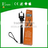 Selfie handheld stick telescopic Selfie stick mobile phone monopod with holder forsmart phone