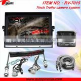 RV-7015V Trailer Reverse Camera System with 5.6inch digital monitor,built-in DC12V~24V input