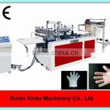 Automatic plastic hand gloves making machine