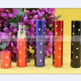 5ml Travel Refillable Perfume Atomizer, empty bottle,fragrance plum diamonds