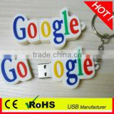 novelty gift Creative PVC Letter Shape USB Flash Drive 32gb pen drive