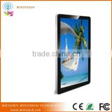 42inch lcd advertising kiosk Win7 Wall Mounted Digital Signage tv showcase designs touch screen kiosk