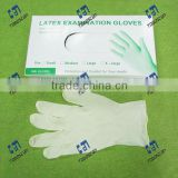 Disposable Latex Exam Gloves powdered S/M/L single use