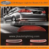 New Arrival High Quality LED Rear Bumper Reflector Lights for Honda City Hot Sale LED Rear Bumper Refelctor for Honda City 2015