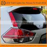 High Qulity Super Bright LED Tail Light for Nissan X-Trail Hot Selling LED Rear Lights for Nissan X-Trail 2014 Backlights LED