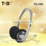 China wholesale mobile phone accessory slim lightweight cool headphones for girls and kids