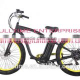 "Fat tire electric bike 26""x4.0"", fat tire beach cruiser bicycle"
