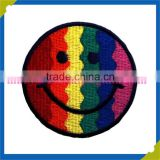 Customized shape colorful fabric high resolution national flag embroidery patch 3d embroidery patch
