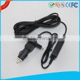 dc converter 24v to 5V converter step down cable with cigarette lighter for GPS navigation accessories