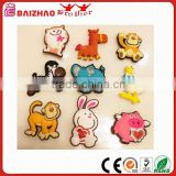 Home Decorating Silicone Rubber Fridge Magnet -Terrestrial organisms Set