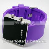 Popular Trendy Cheap Silicone Digital Silicone Bracelet Watch                                                                         Quality Choice