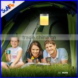 Portable Wireless Rechargeable Battery Operated Touch Sensor Led Camping Lamp