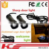 New product for 2015 lamp logo laser light for led car door logo laser projector light