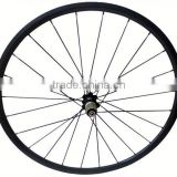 High quality 700c road bicyle for clincher or tubular carbon wheelset carbon track wheel