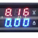 Red+Blue DC0-100V 0-100A digital ampere-voltage meter J00035