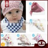 wholesale new design cotton baby bandana bibs                                                                         Quality Choice