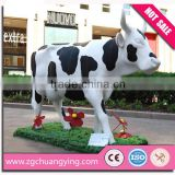 Life size cow statue molds for sale