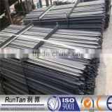 ISO9001 Australia standard black bitum or hot dipped galvanized steel y post (Since 1989)