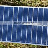 Tempered glass laminated PV solar panel for outdoor power supply