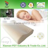2016 New Non-Pressure Wave Shape High Quality Contour Massage Natural Latex Pillow for Adult