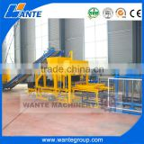 WANTE MACHINERY QT4-18 fully automatic stone dust hollow block making manufacture in china