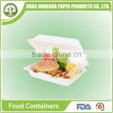 Disposable Biodegradable / Eco-friendly Sugarcane Pulp Box Plate Bowl