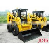 BOBCAT Mini skid steer loader JC45 JC60 JC70 JC80 with different attachments for farm garden and construction