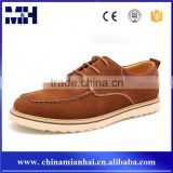 Hot sale factory direct price suede quality class man shoe