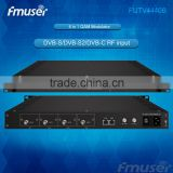 FUTV4440B 4 in 1 QAM Modulator (Optional 4*ASI / 4*QAM / 4*DVB-S tuner / 4*DVB-S2 tuner Input, RF Output ) with NMS