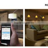 Zigbee APP controlled lamp Make Life Easy SmartHome LED light bulb lamp 1 phone control 200 bulbs lamps