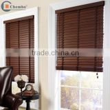 China supplier faux wood blinds wooden window blind