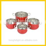 Wholesale high quality cast iron cookware set