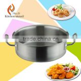 High temperature good quality induction commercial stianless steel kitchen soup pot cooking pot kitchen equipment 2015 hot sale