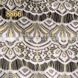 8866 jacquard lace fabric in stock lace trim from Changle